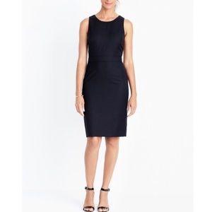 J Crew wool dress in black size 4